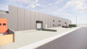 Vista exterior en 3D de la nova planta