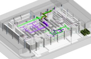 Vista interior en 3D de la nova planta